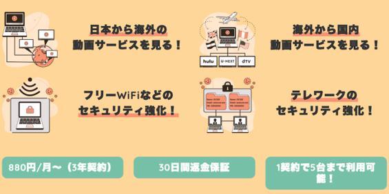 Millen VPN(ミレンVPN) 口コミ